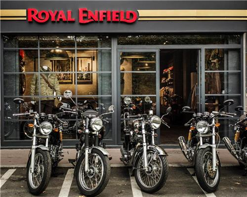 Concept Store Royal Enfield Paris