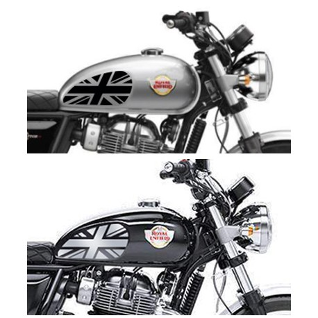 Pad sticker de réservoir Royal Enfield Interceptor