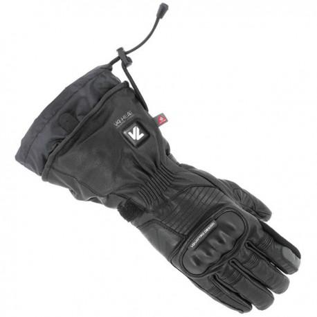Gants chauffant cuir noir VQuattro Vulcan 18