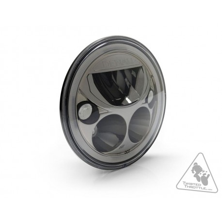 Phare DENALI M7 LED Ø177mm noir chrome