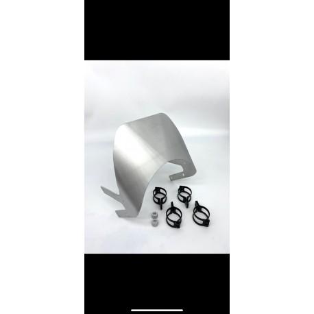 Saute vent aluminium Le Motographe