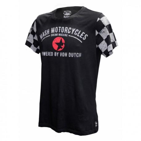 T-Shirt Damier Manches Courtes