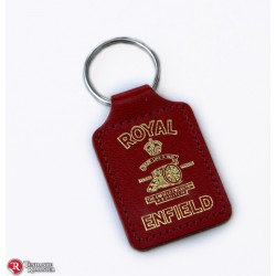 Porte clef Royal Enfield Rouge