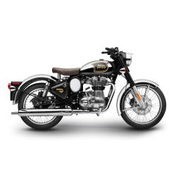 Royal Enfield Bullet Classic Chrome Black
