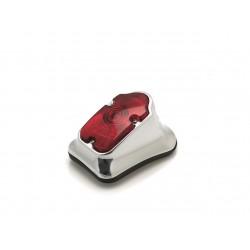 Feu arrière LED homologué rouge Bihr softail chromé