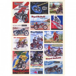 Planche Stickers Royal Enfield