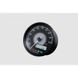 Compteur Velona 200 KMH RPM affichage LCD 80 mm