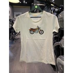 T-Shirt Bullet Blanc Femme