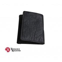 Porte-feuille noir classique Trifold Royal Enfield