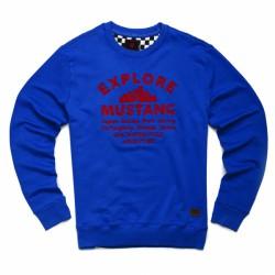 Sweat Mustang Bleu Royal Enfield