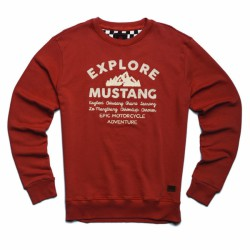 Sweat Mustang rouille Royal Enfield
