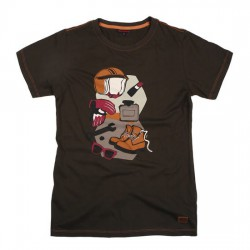 T-Shirt Ride Femme Olive