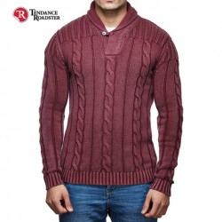 Pull Bordeaux Royal Enfield