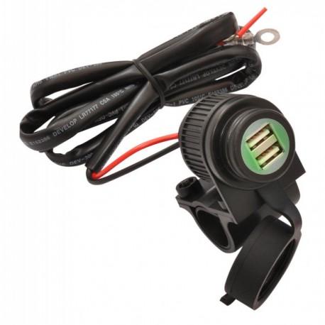 Prise USB 12 volts 4 ampères Tecnoglobe